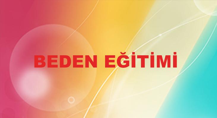 BEDEN-EGITIMI