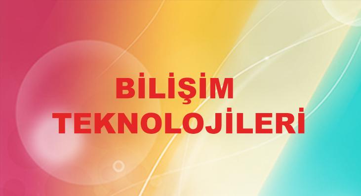 BILISIM-TEKNOLOJILERI