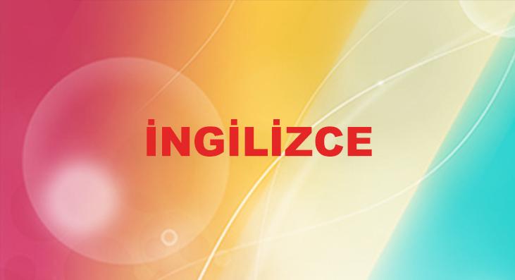 INGILIZCE
